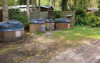 Nieuwe afvalcontainer! nu ook plastic gescheiden